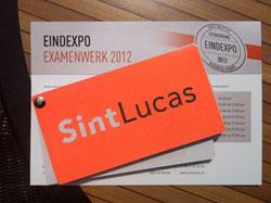 SINTLUCAS expositie examenwerk...